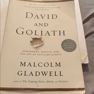 Other - David and Goliath by Malcom Gladwell book
